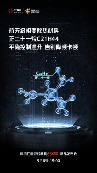 Nubia использует «космические технологии» в новом игровом Red Magic 6S Pro