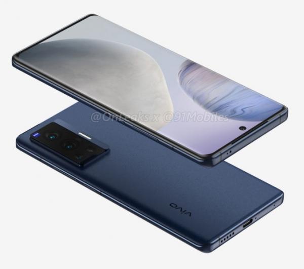 Подборка Vivo X70 Pro на качественных рендерах