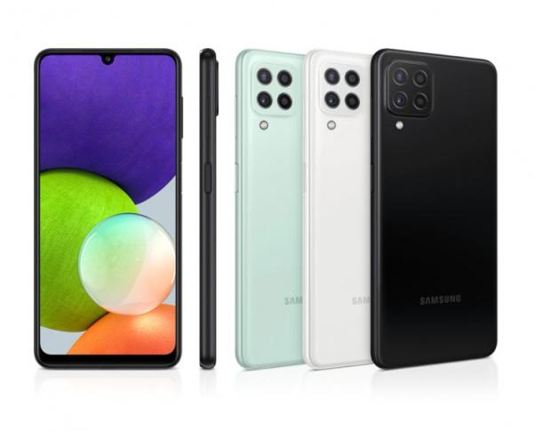 Samsung Galaxy A22 с OIS вышел в России