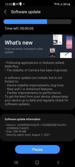 Samsung стала добавлять технологию RAM Plus