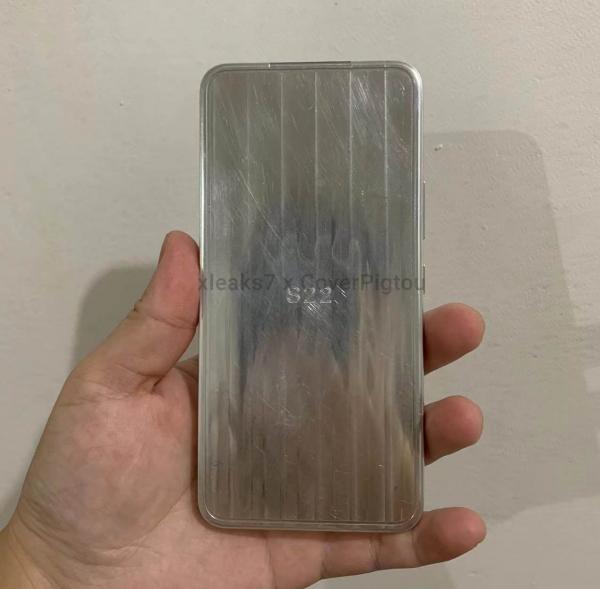 Первый макет компактного Samsung Galaxy S22
